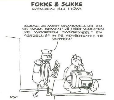 Vacature tekst Fokke & Sukke