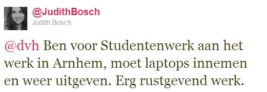 Tweet StudentenWerk